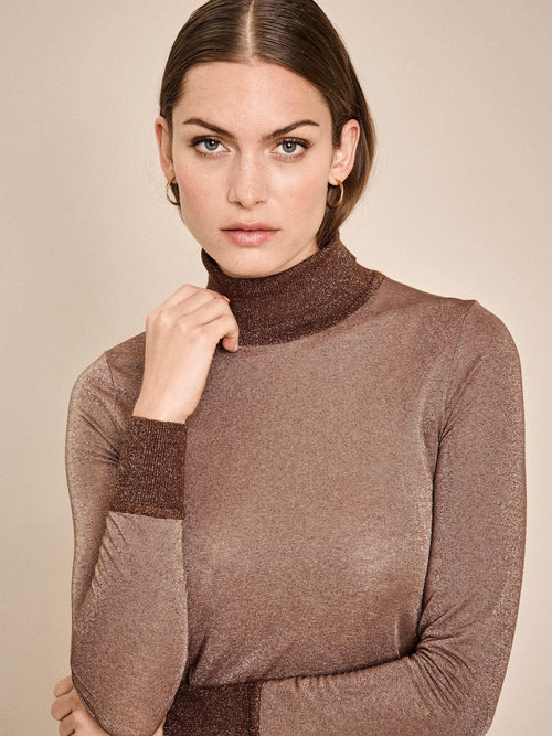 Mos Mosh Casio Roll Neck Top - Ribbon Rouge Boutiques