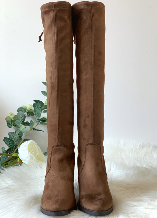 Ribbon Rouge Knee Length Sock Boots - Ribbon Rouge Boutiques