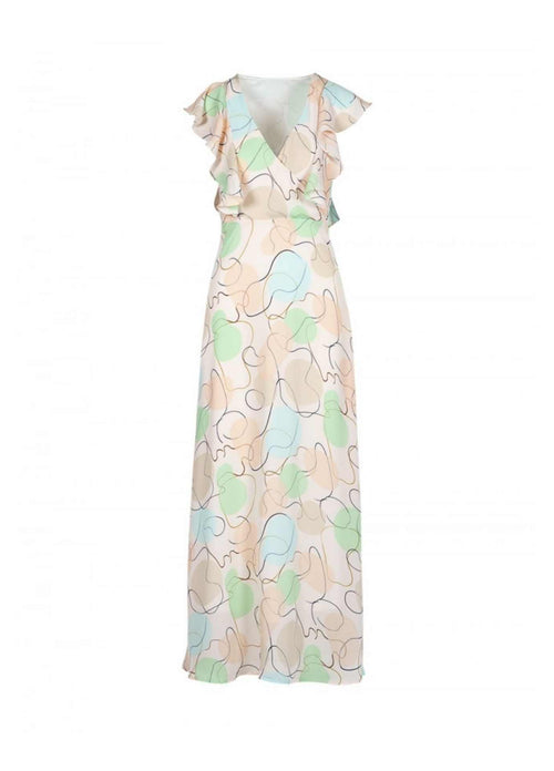 Anonyme-A121sd033-Bubbly-Dia-Womens-Long-Pastel-Print-Summer-Maxi-Dress