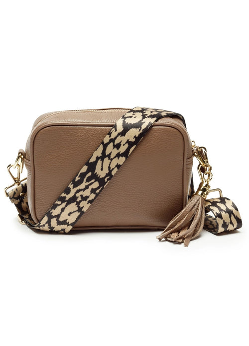Ellie-Beaumont-Icon-Bag-Taupe-Animal-Strap-Online-Ribbon-Rouge-Online