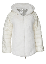 Eva Kayan Faux Fur Reversible Puffer Coat - Ribbon Rouge Boutiques