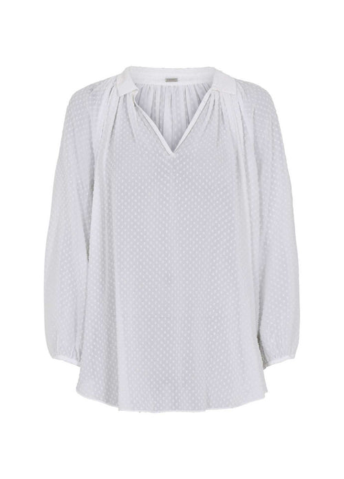 Gustav-40612-AnnSofie-Casual-Everyday-White-Causal-Womens-Top