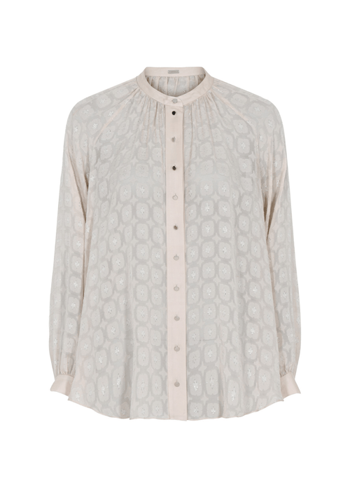Gustav-Annsofie-Shirt-40603-In-Beige-Ribbon-Rouge-Ireland