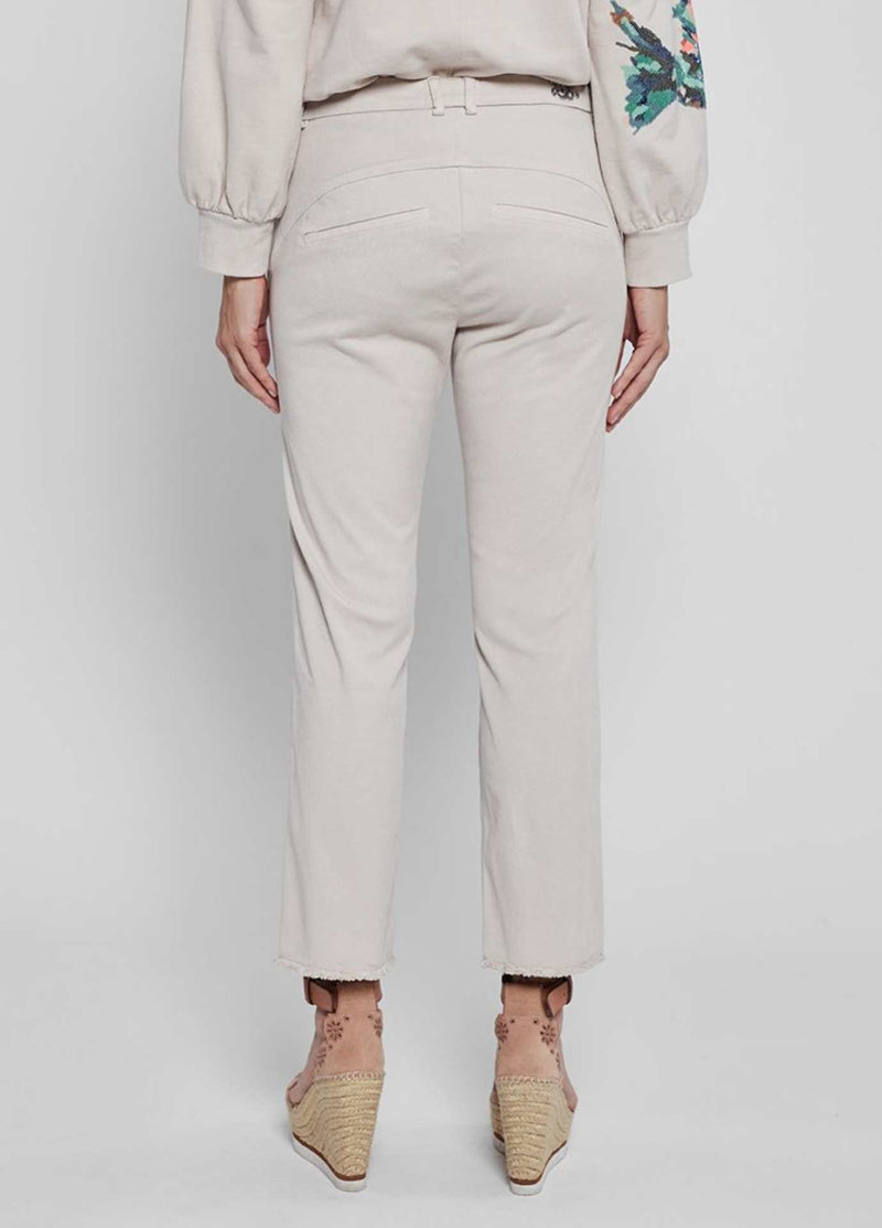 Gustav-Beka-40003-Nude-Ivory-Cropped-Womens-Trousers-From-The-Back