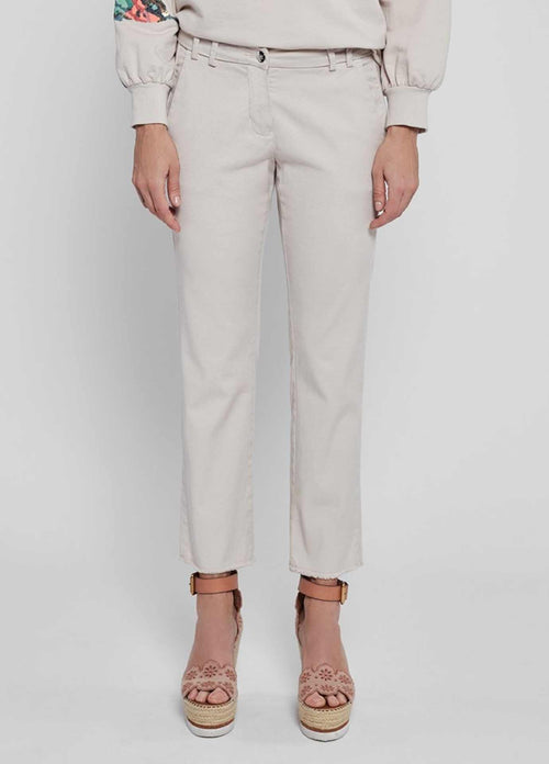 Gustav-Beka-40003-Nude-Ivory-Cropped-Womens-Trousers