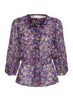Inwear-Florizzal-30105459-Purple-Floral-Print-Ladies-Top-Ribbon-Rouge-Online