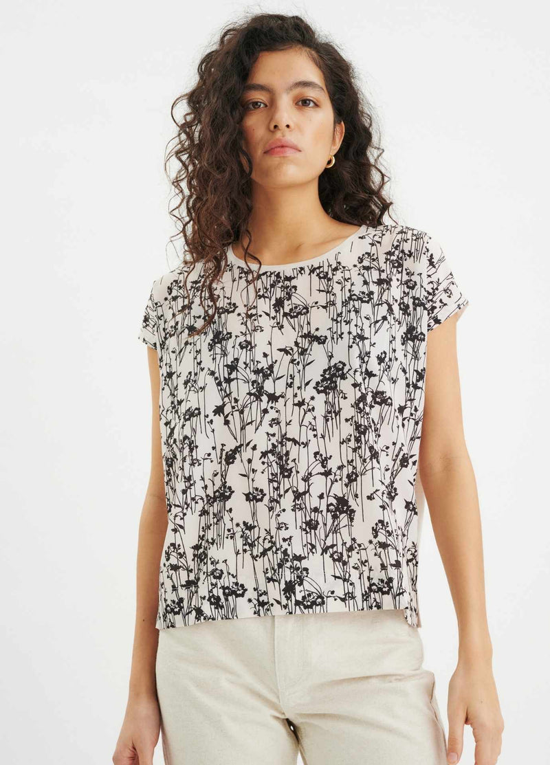 Inwear-Sicily-Black-And-White-Floral-Print-Womens-Top-30103135-Ribbon-Rouge
