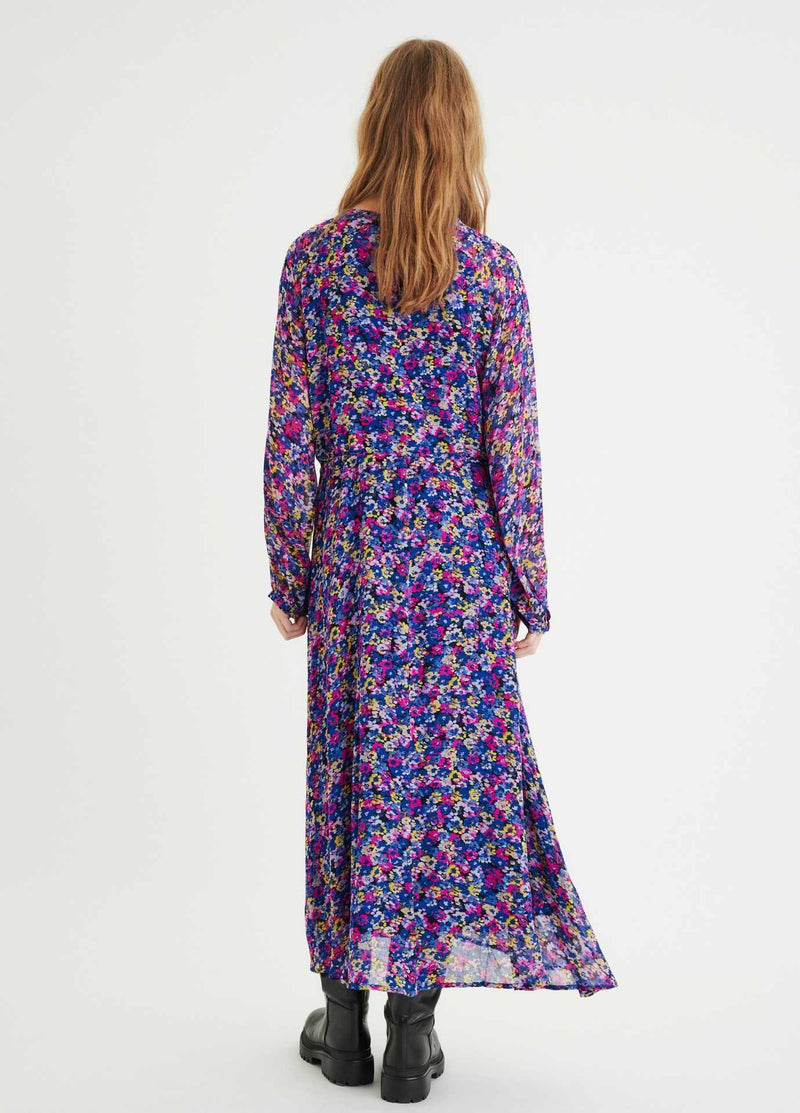 nwear-paulinew-30106289-summer-field-judyiw-long-Ladies-floral-print-dress-from-the-back-ribbon-rouge-ireland