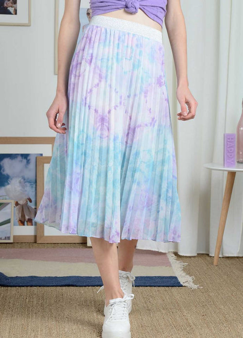 Molly-Bracken-Womens-Lilac-Purple-Long-Pleated-Skirt-Pl179p21-Ribbon-Rouge