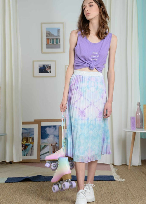 Molly-Bracken-Womens-Lilac-Purple-Pleated-Midi-Skirt-Pl179p21-Ribbon-Rouge