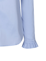 Mosmosh Mattie Frill Sleeve Baby Blue Shirt