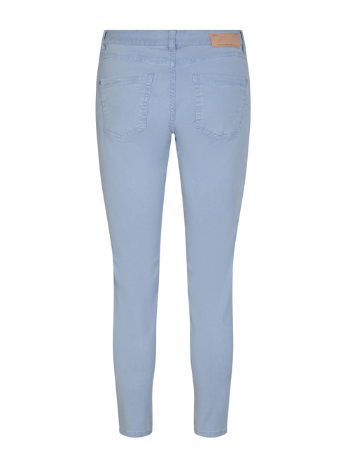 MosMosh-137200-Sumner-Ladies-Trousers-Baby-Blue-Back-Pockets-Ribbon-Rouge