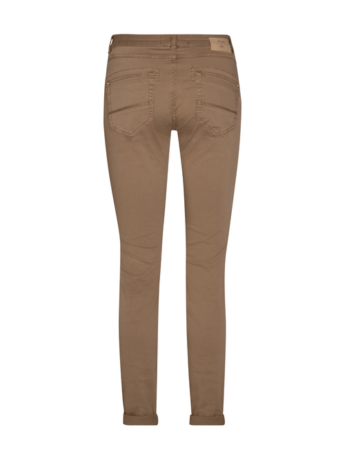 MosMosh-137290-Naomi-Daze-Ladies-Trousers-Tan-From-The-Back-Ribbon-Rouge