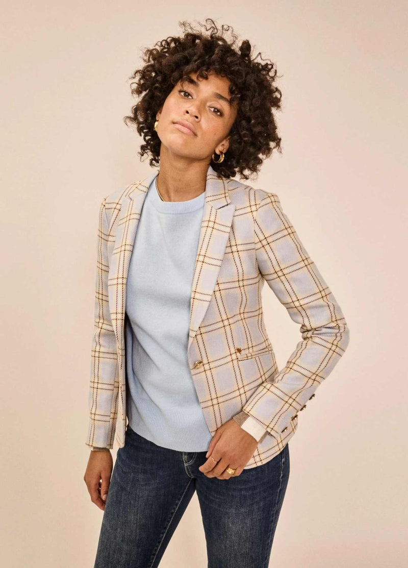 MosMosh-138280-blake-jolly-womens-blue-check-print-blazer-jacket-ribbon-rouge