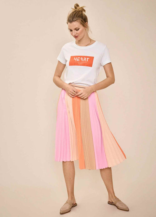 MosMosh-Plisse-138180-Colour-Block-Print-Pleated-Womens-Midi-Skirt-Ribbon-Rouge-Ireland