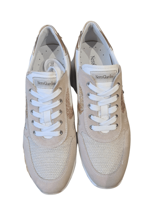 Nero-Giardini-115194D-Ladies-Rose-Gold-Leather-Wedge-Trainers-With-White-Laces-Ribbon-Rouge