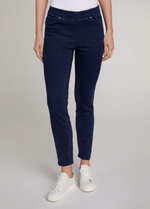 Oui-Slim-Leg-Ladies-Dark-Blue-Denim-Jeggings-71898-RibbonRouge