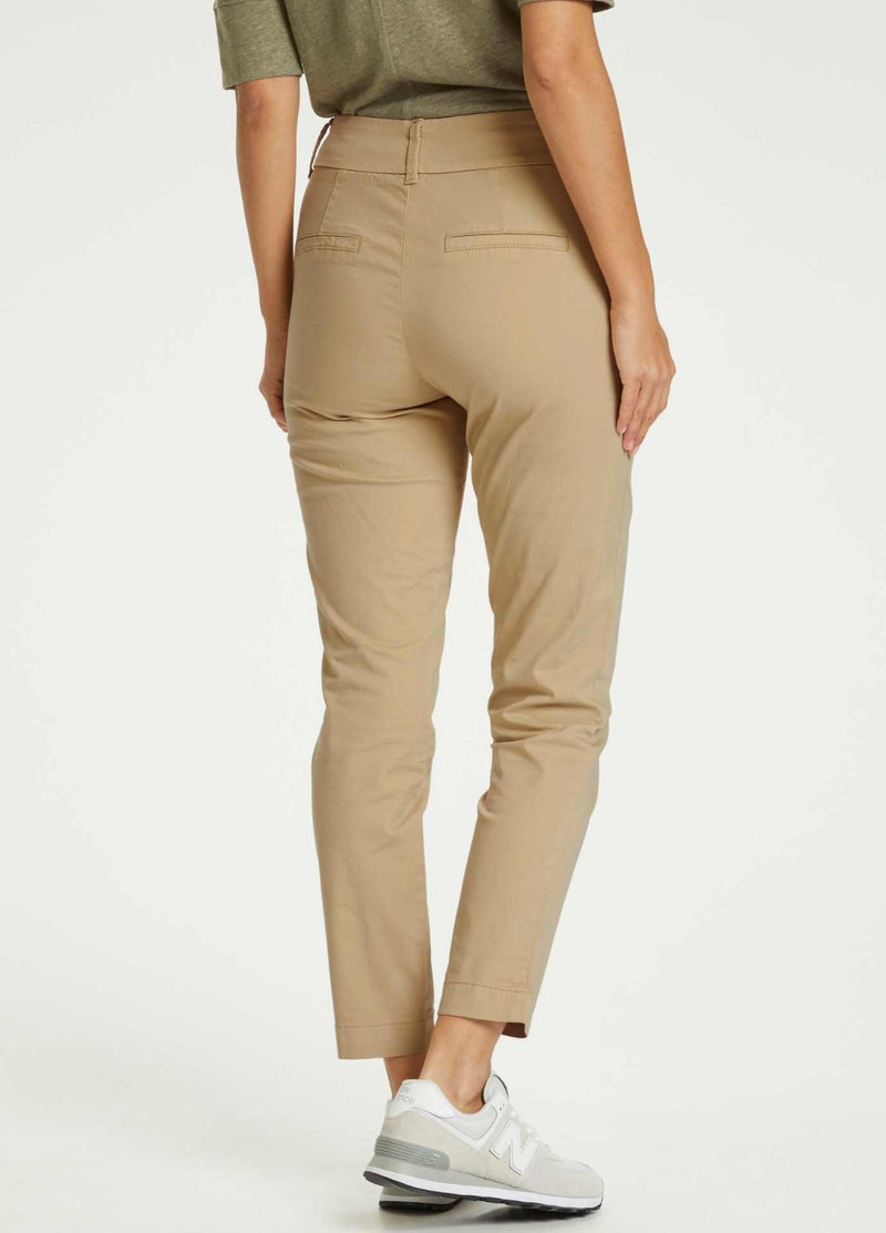 Part-Two-Soffys-Casual-Womens-Beige-Trousers-With-Pockets-From-Back-30305570
