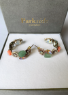 Parkside London Handmade Floral Bouquet Hoop Earrings - Ribbon Rouge Boutiques