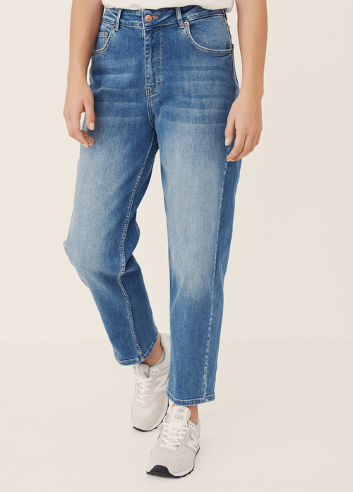 Part-Two-30305848-Helapw-High-Waisted-Relaxed-Cropped-Style-Jeans-Ribbon-Rouge-Ireland