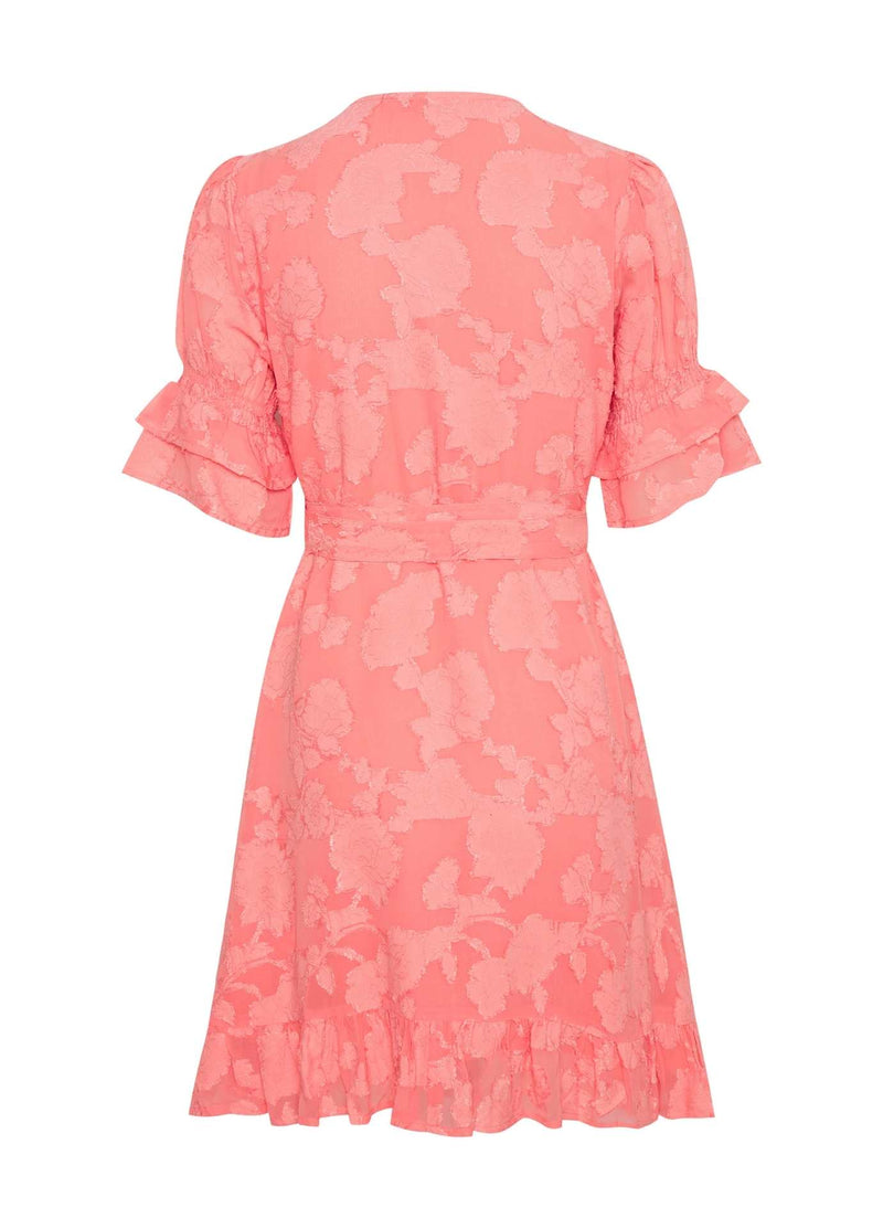 Part-Two-30306022-Peach-Blossom-Womens-Short-Sleeve-Summer-Wrap-Dress-With-Belt-From-The-Back