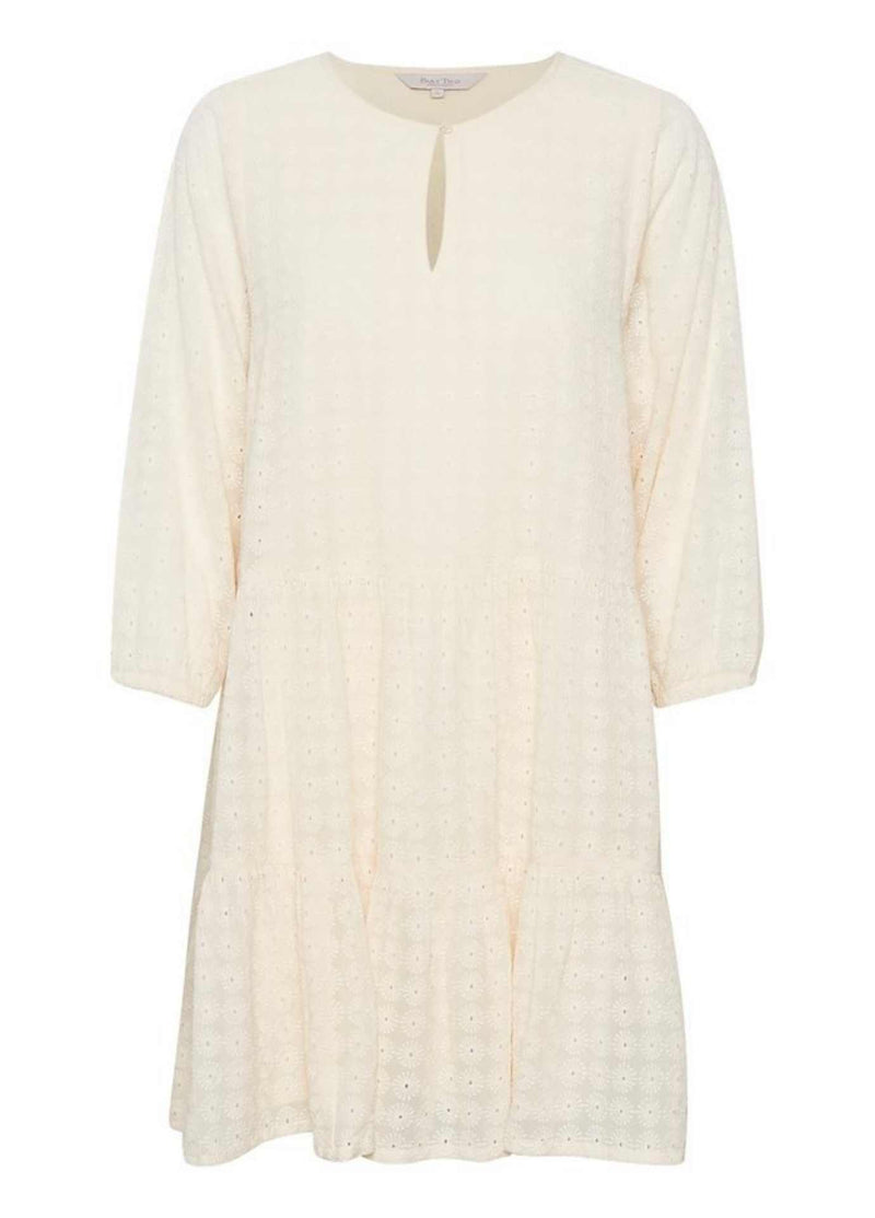 Part-Two-Ese-Cream-Knee-Length-Embroidered-Dress