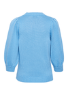 Part-Two-Gabi-Blue-Organic-Cotton-Ladies-Jumper-From-Back-Ribbon-Rouge-Online