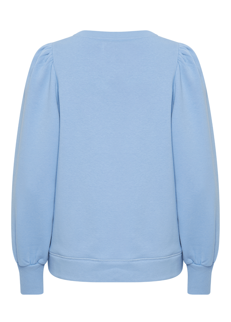Part-Two-Gisa-Blue-Womens-Puff-SLeeve-Sweatshirt-From-The-Back-Ribbon-Rouge-Online