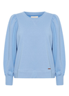 Part-Two-Gisa-Blue-Womens-Puff-SLeeve-Sweatshirt-Ribbon-Rouge-Online