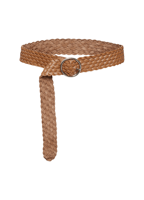 Part-Two-Hande-PW-Basket-Weave-Ladies-Brown-Belt-30305987-Ribbon-Rouge-Ireland