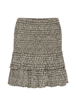 Part-Two-HeiPW-Mini-Khaki-Print-Womens-Short-Layer-Skirt-Ribbon-Rouge-Online