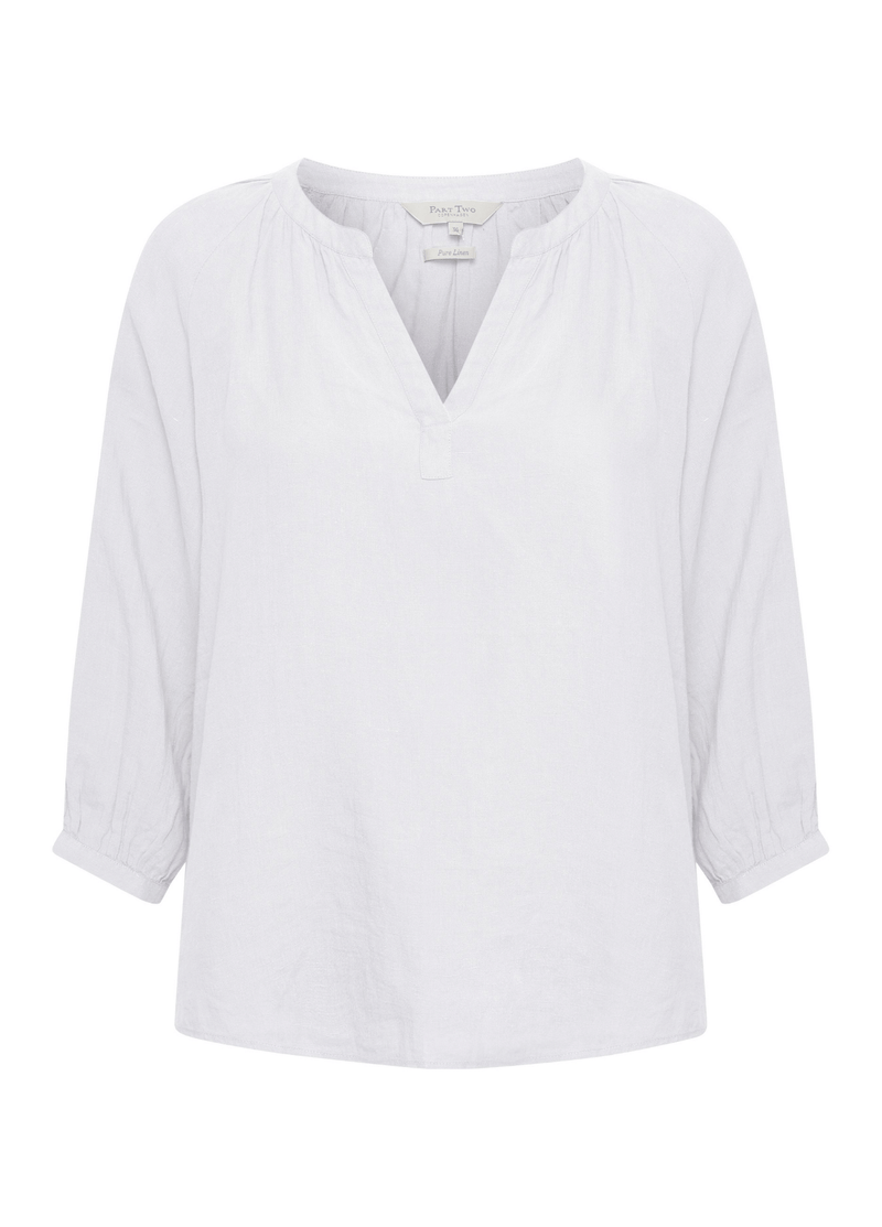 Part-Two-Hikma-Long-Sleeve-Womens-Casual-White-Top-30305893-Ribbon-Rouge-Online