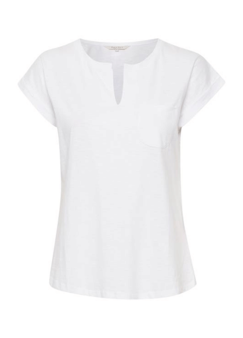 Part-Two-Kedita-PW-Cap-Sleeve-Bright-White-Casual-Top-Ribbon-Rouge-Online