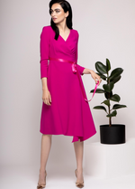 Caroline Kilkenny Victoria Pink A-Line Dress - Ribbon Rouge Boutiques
