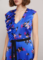 Sisters-By-Caroline-Kilkenny-SS21-Jem-Womens-Sleeveless-V-Neck-Occasion-Dress-In-Blue-Floral-Print-Ribbon-Rouge