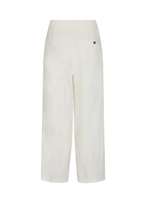 Soya-Concept-16919-Off-White-Everyday-Loose-Fit-Womens-Summer-Trousers-From-Back