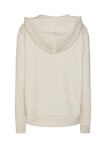 SoyaConcept Banu Soft Ladies Casual Cream Hoodie Jumper At The Back - Ribbon Rouge