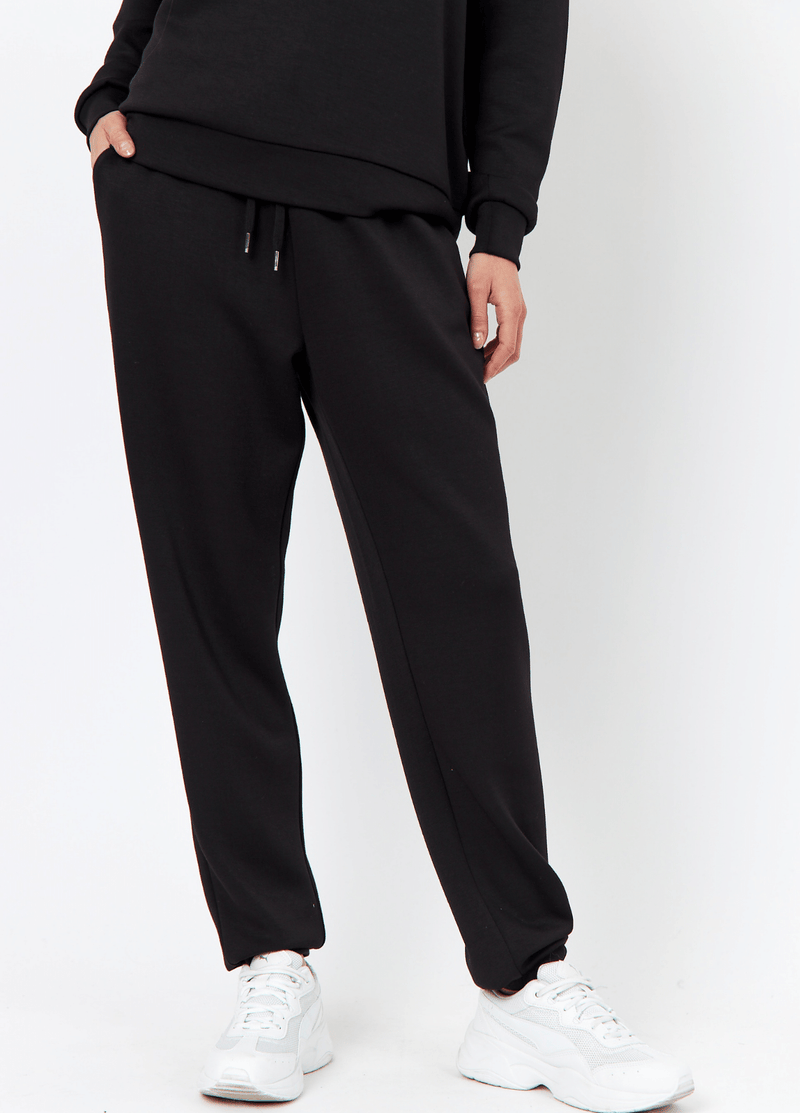SoyaConcept Banu Womens Tracksuit Casual Black Trousers - Ribbon Rouge4