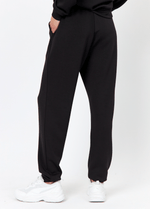 SoyaConcept Banu Womens Black Tracksuit Trousers At the Back- Ribbon Rouge4