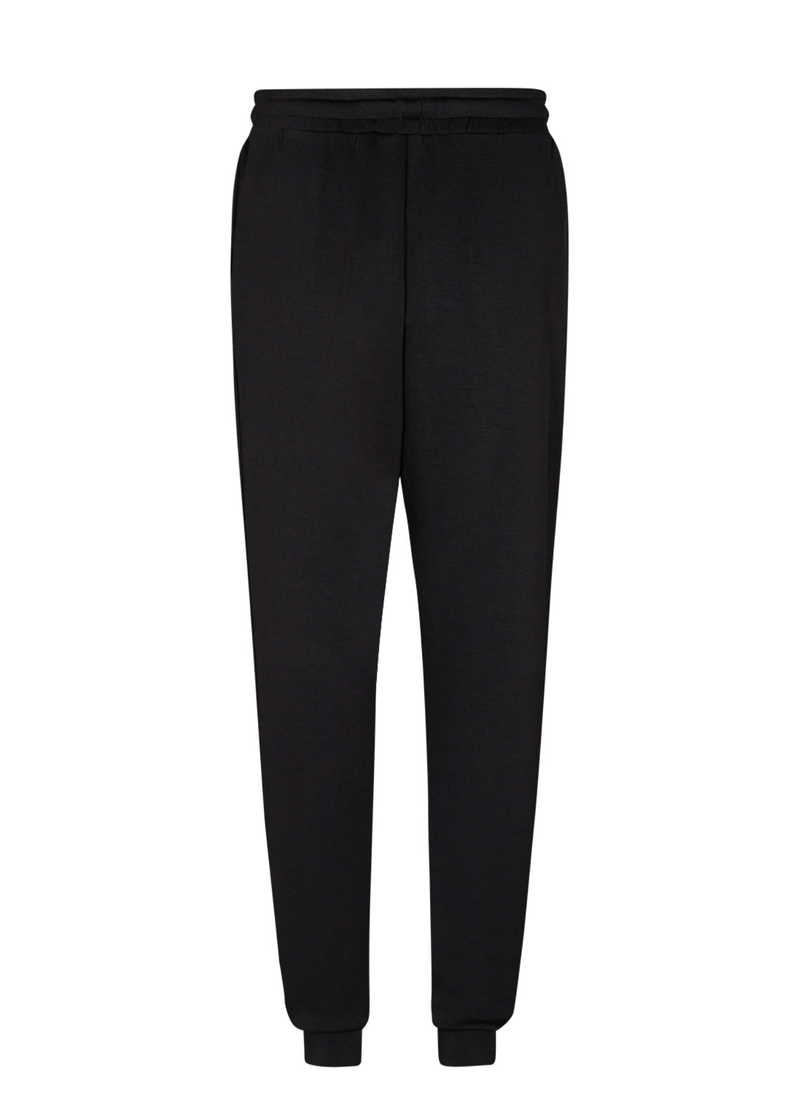 SoyaConcept Banu Womens Black Casual Stay Home Sweat pants at the back - Ribbon Rouge