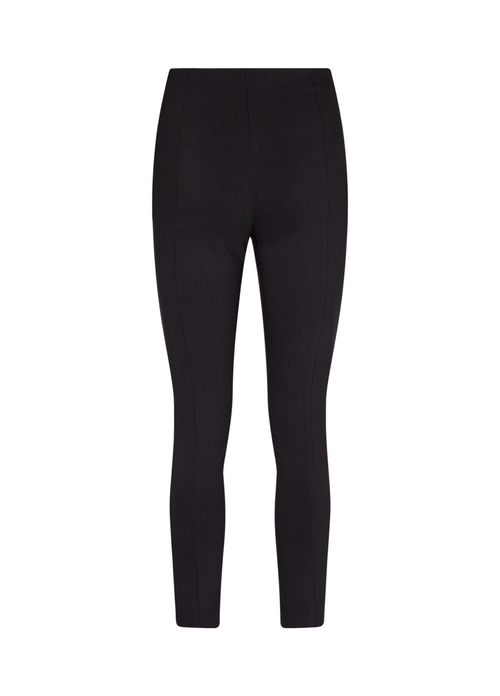 SoyaConcept Lilly Slim Leg Black Trousers Back