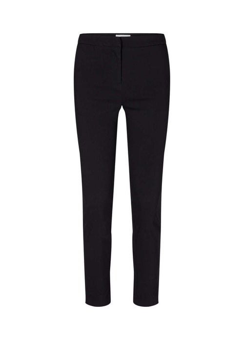 Soya Concept Lilly Womens Slim Leg Black Trousers With Pockets