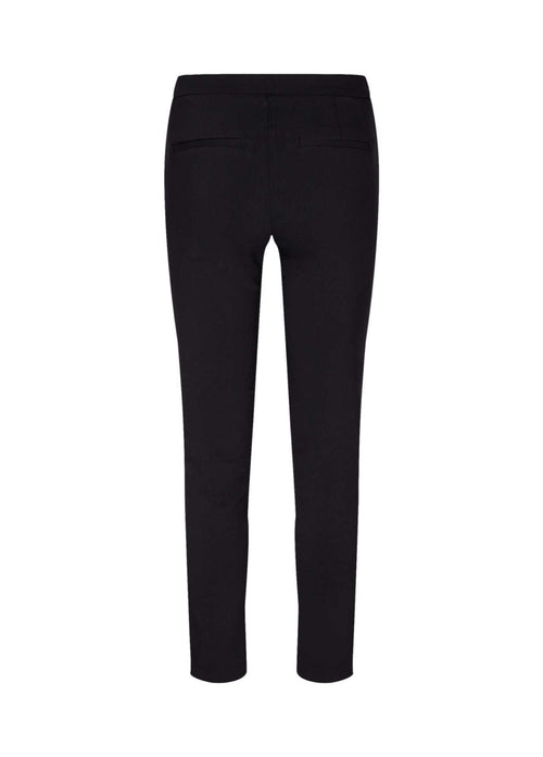 Soya Concept Lilly Womens Black Trousers With Pockets From Back