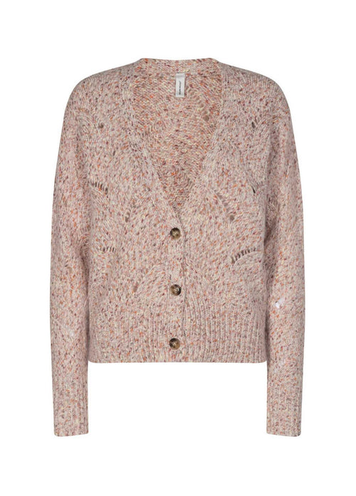 Soyaconcept-Lynett-Pink-Knitted-Womens-Cardigan-Ribbon-Rouge-Online
