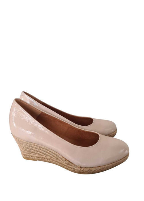 Viguera-1458-Nude-Patent-Leather-Womens-Summer-Platform-Espadrille-Shoes-Side