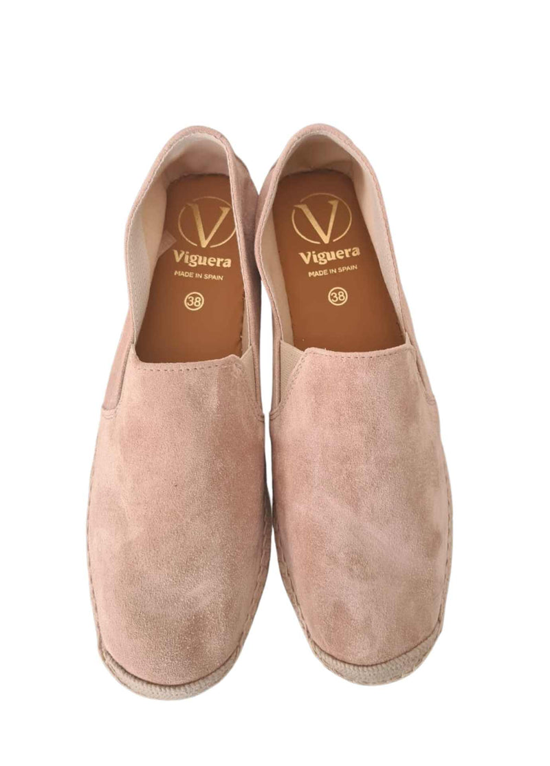 Viguera-1653-Nude-Pink-Summer-Espadrille-Womens-Shoes-Top-View