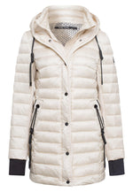Marc Aurel Winter White Padded Coat