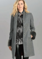 Tinta Nadira Faux Fur Sleeve Coat