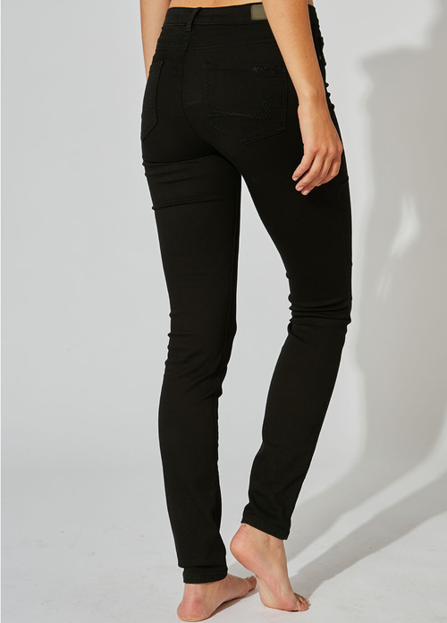 Sud Express Black Jeggings - Ribbon Rouge Boutiques