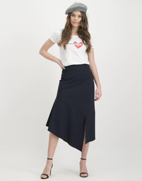 Jane Lushka Silviya Black Skirt - Ribbon Rouge Boutiques